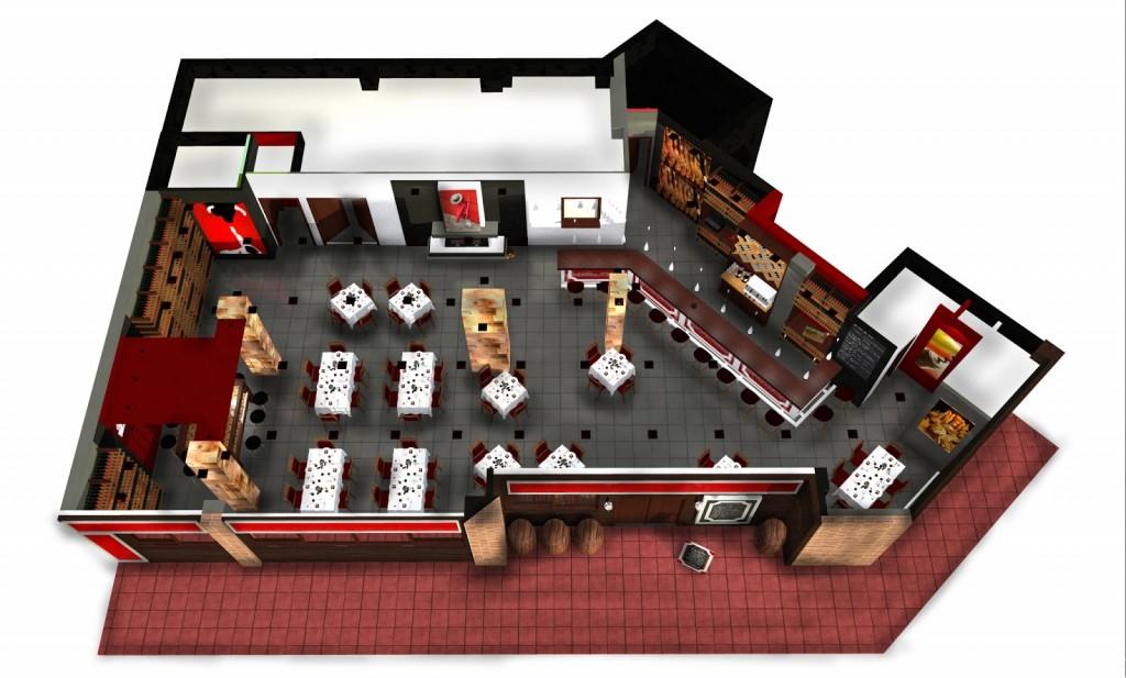 Organización Restaurante