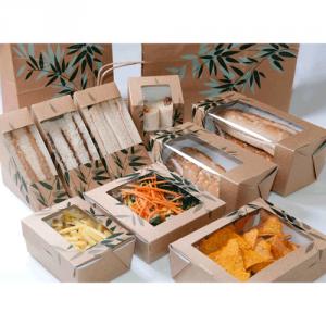 Tipos de envases para comida take away